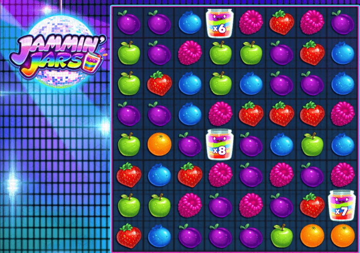 Image showing Jammin Jars from Push Gaming with high multipliers