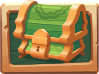 Image showing the Green chest from Wild Bazaar Netent