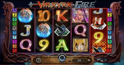Valkyrie Fire slot review; a Barcrest game - overview image