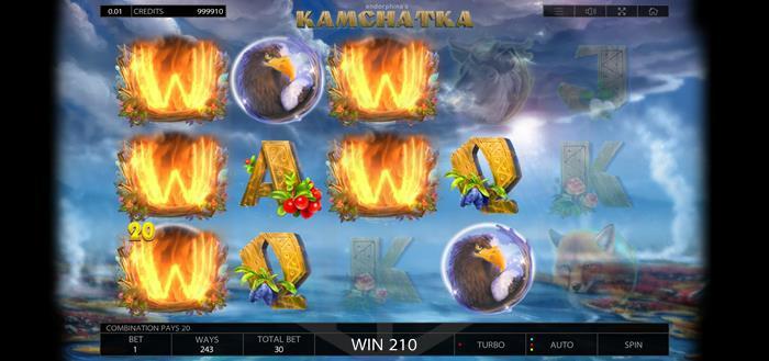 Kamchatka - Endorphina - reels wild wins