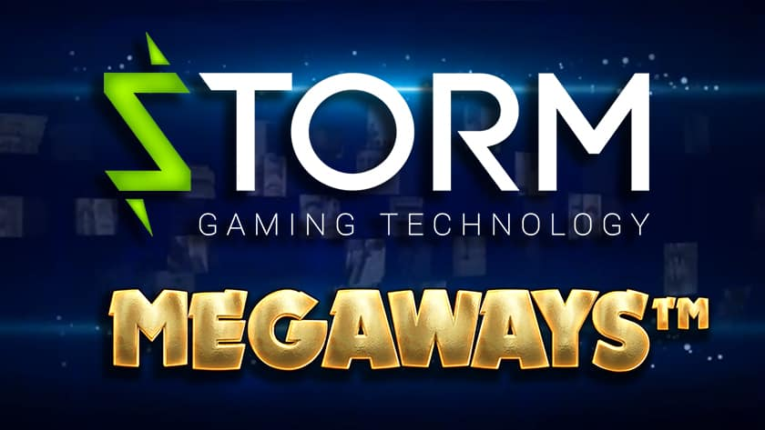 Image showing Storm Gaming logo and Megaways mechanics from BTG