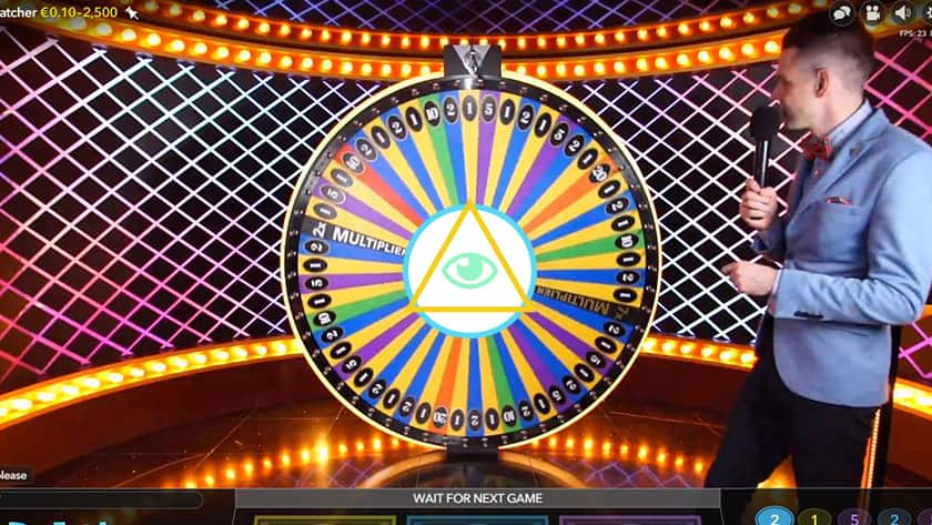 Image showing DreamCatcher from Evolution with custom graphics of the all seeing eye from illuminati