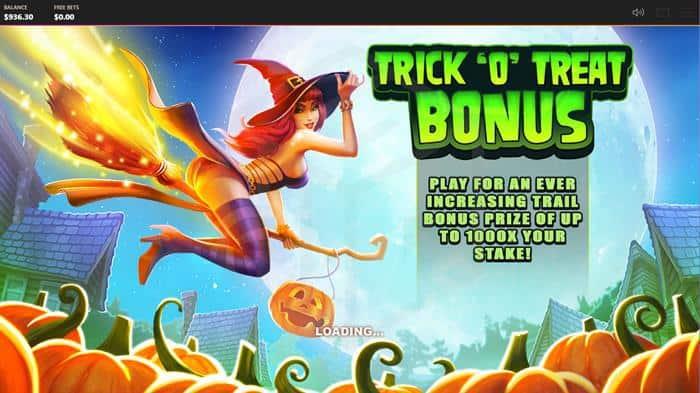 Trick O Treat Bonus Game Feature