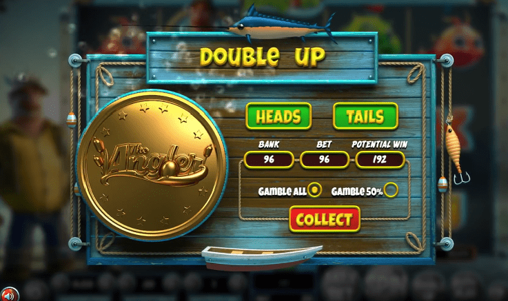 The Angler slot gambling feature