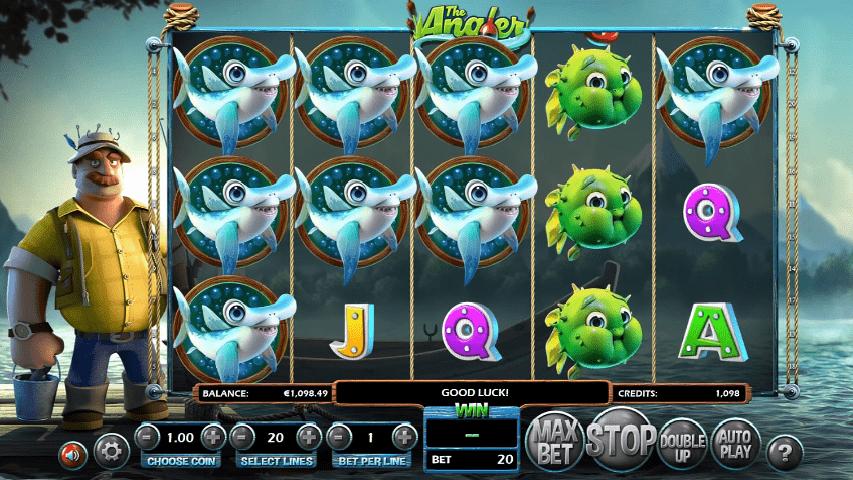 The Angler slot game
