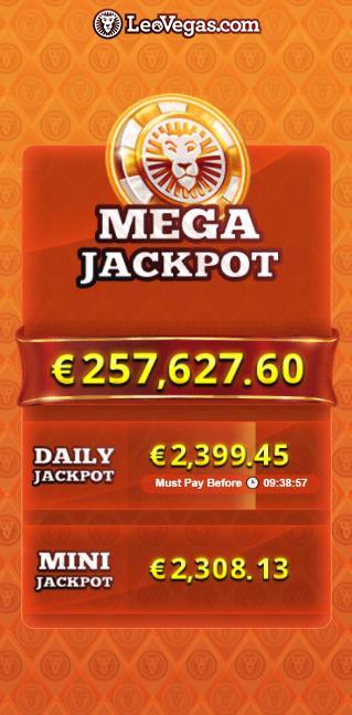 Lucky Valentine Slot Jackpot Screenshot
