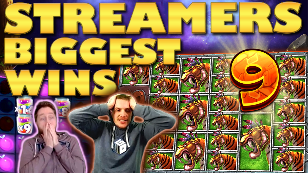 Watch the biggest casino streamer wins for week 9 2019