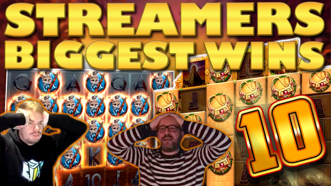Watch the biggest casino streamer wins for week 10 2019