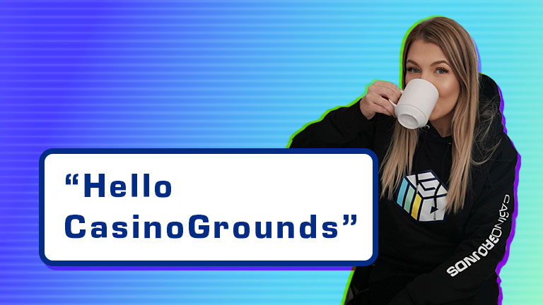 Win with Casinogrounds and share - Get Merch!