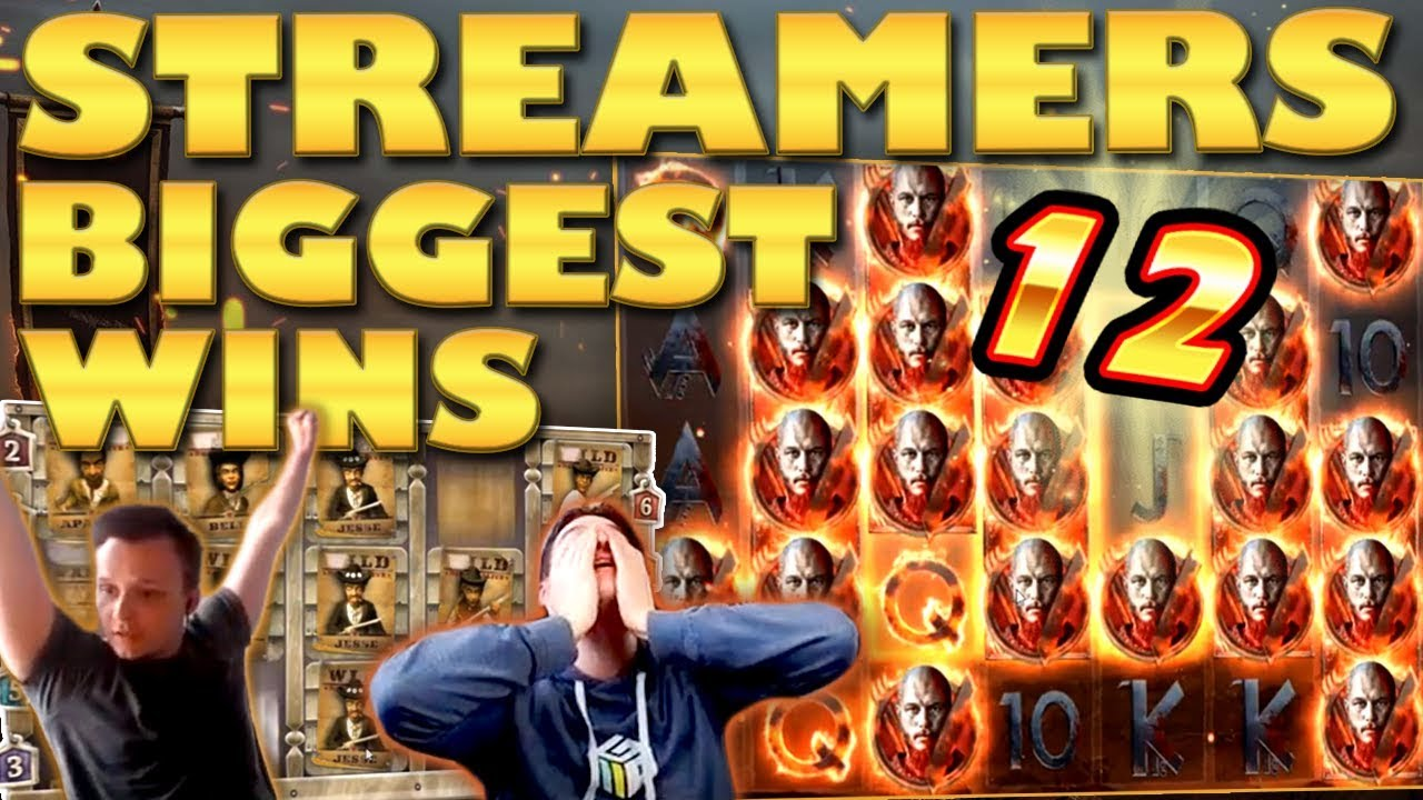 Watch the biggest casino streamer wins for week 12 2019
