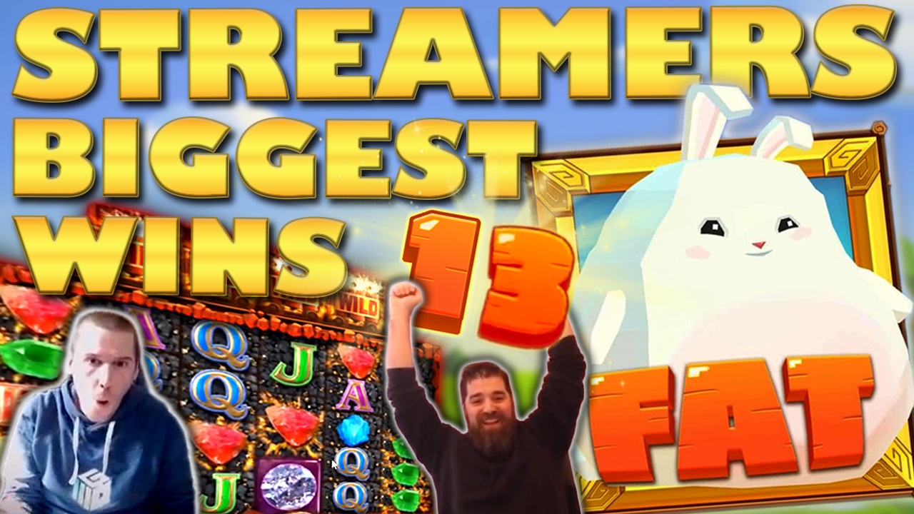 Watch the biggest casino streamer wins for week 13 2019