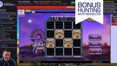 NickSlots £4.000 Bonus Hunt: [Saved Bonuses] April 5th, 21:00 CET