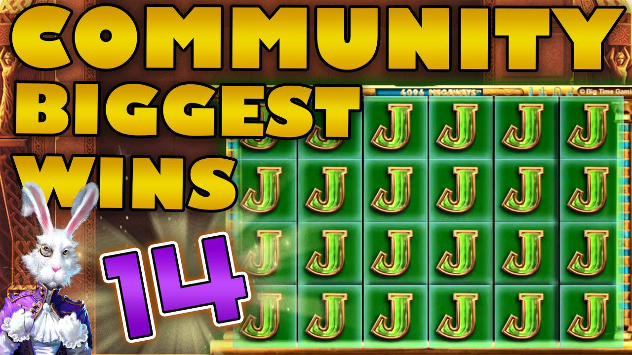 CasinoGrounds Community Big Wins Compilation #14, 2019