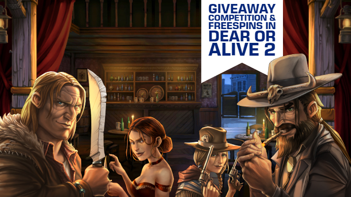 Massive Dead Or Alive 2 Free Spins Giveaway and Competition