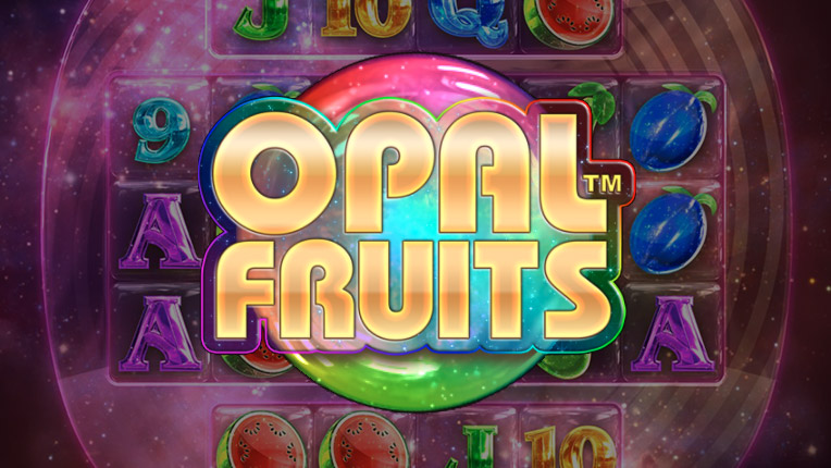 Logo of the Opal Fruits slot by Big Time Gaming