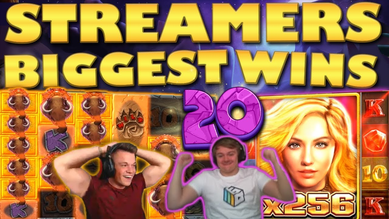 Watch the biggest casino streamer wins for week 20 2019