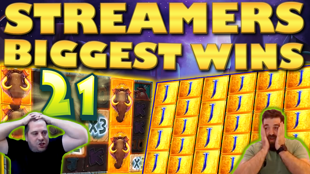 Watch the biggest casino streamer wins for week 21 2019