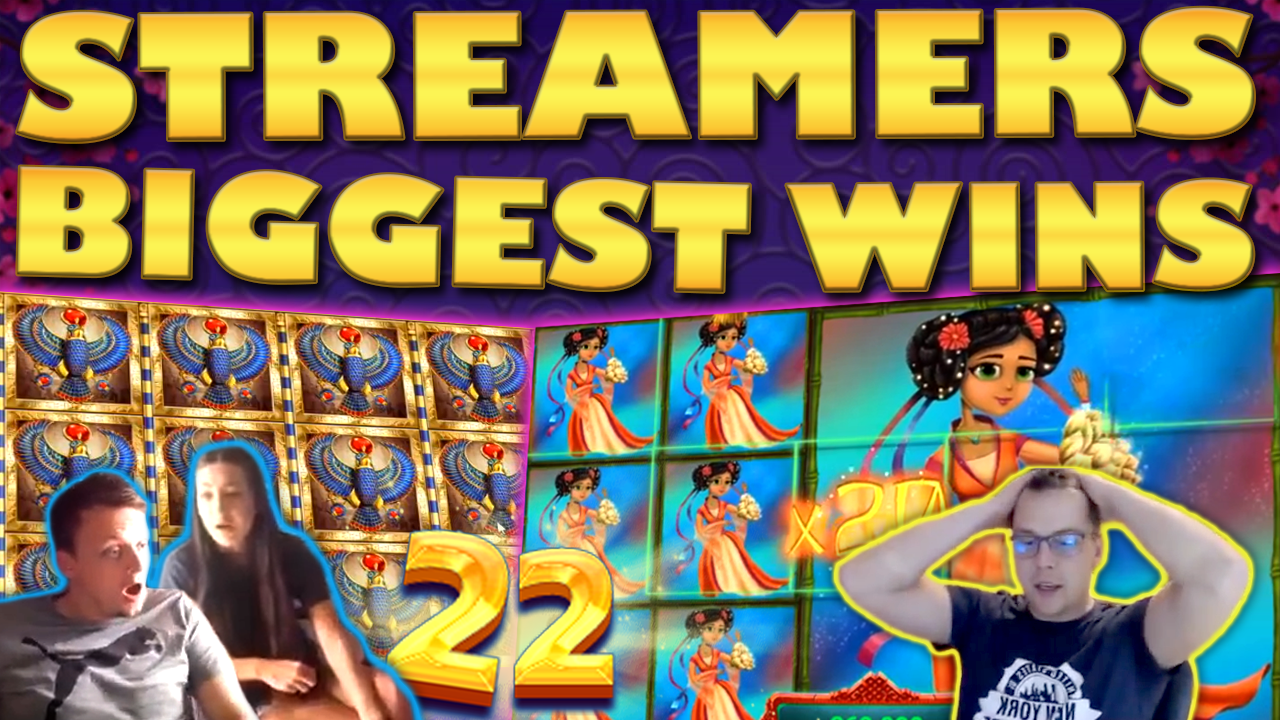 Watch the biggest casino streamer wins for week 22 2019