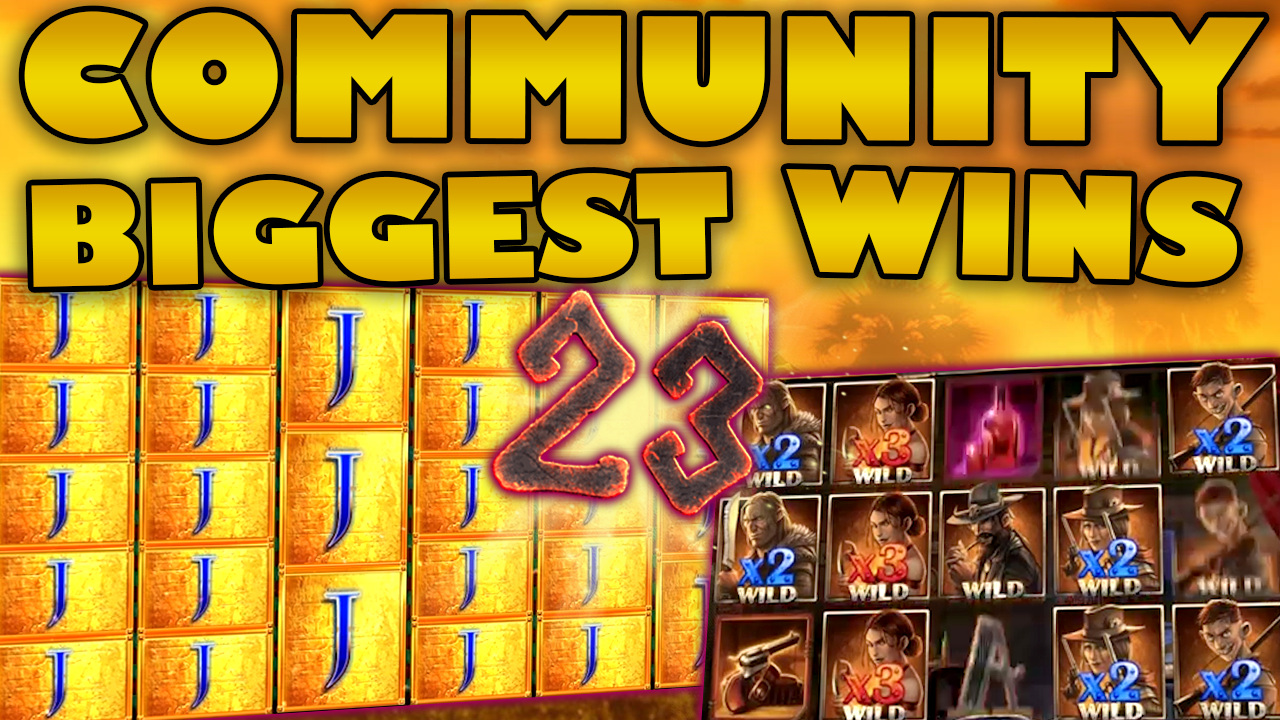 Watch the biggest Casino Streamer Community wins for week 23 2019