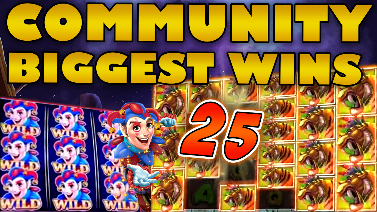 Watch the biggest Casino Streamer Community wins for week 25 2019