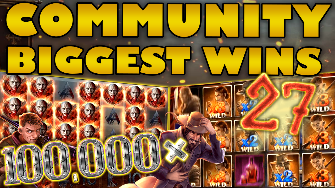 Watch the biggest Casino Streamer Community wins for week 27 2019