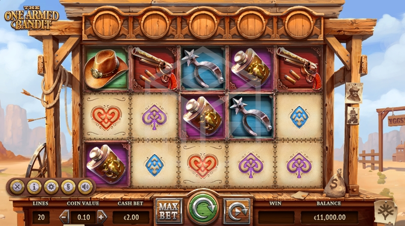 slots-the-one-armed-bandit-slot-yggdrasil-reels-base-game