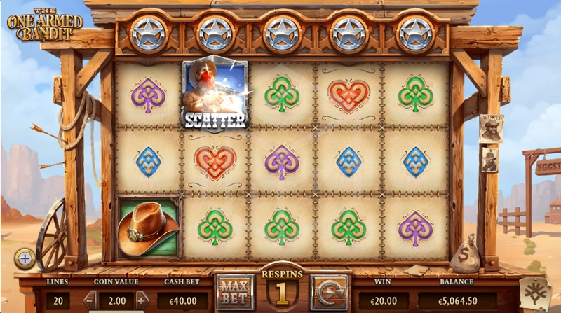 slots-the-one-armed-bandit-slot-yggdrasil-reels-wild