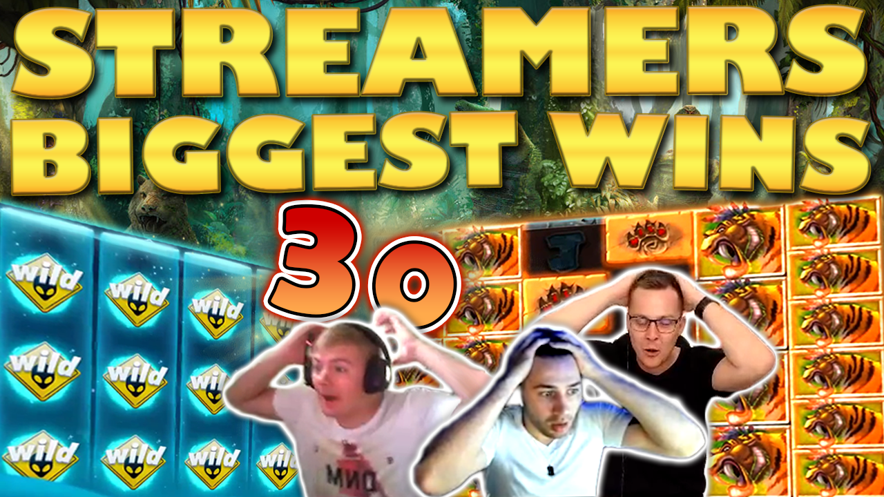 Watch the biggest casino streamer wins for week 30 2019