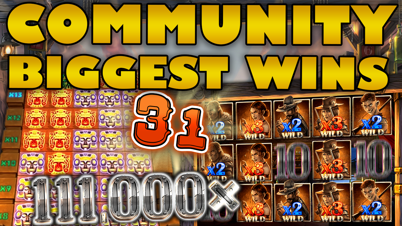 Watch the biggest Casino Streamer Community wins for week 31 2019