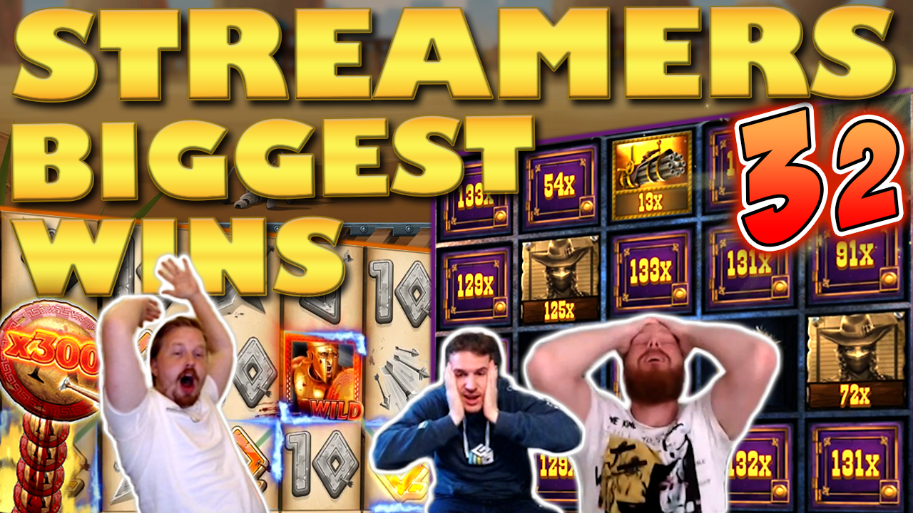 Watch the biggest casino streamer wins for week 32 2019