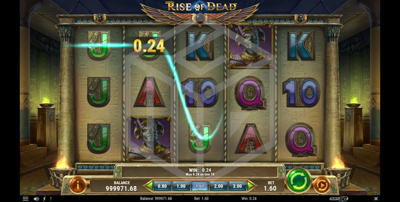 slots-rise-of-dead-reels-main-game