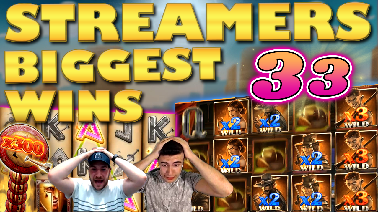 Watch the biggest casino streamer wins for week 33 2019