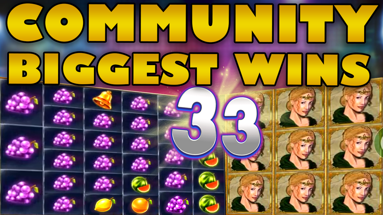 Watch the biggest Casino Streamer Community wins for week 33 2019