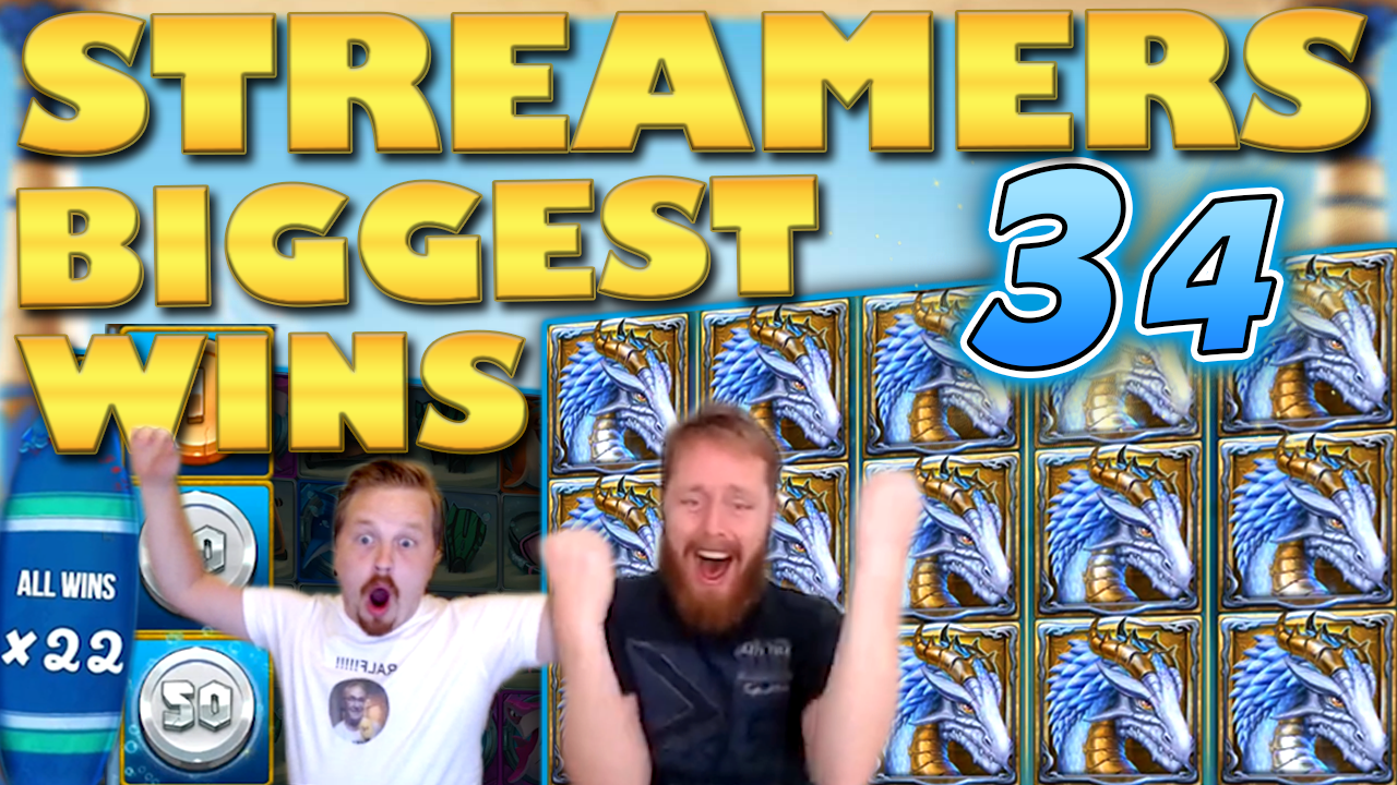 Watch the biggest casino streamer wins for week 34 2019