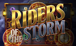 Logo of the Riders of The Storm slot by Thunderkick