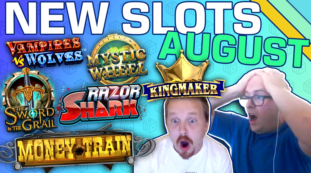 Top New Slots of August 2019