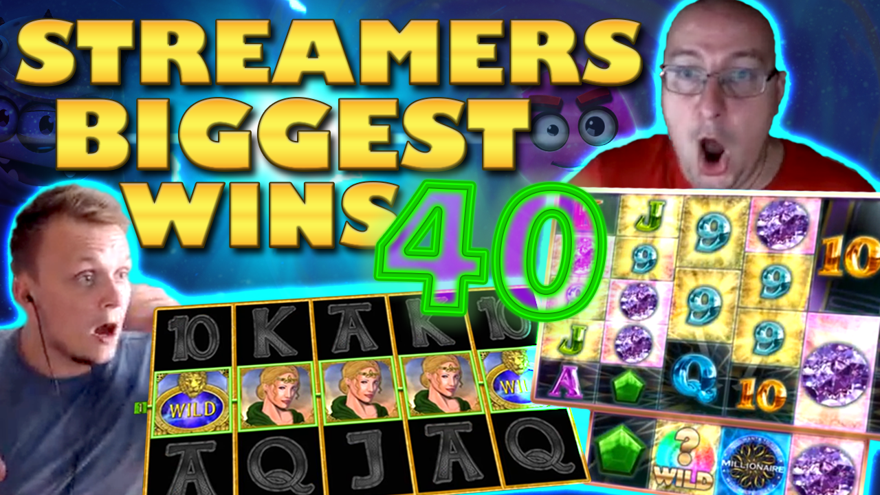 Watch the biggest casino streamer wins for week 40 2019