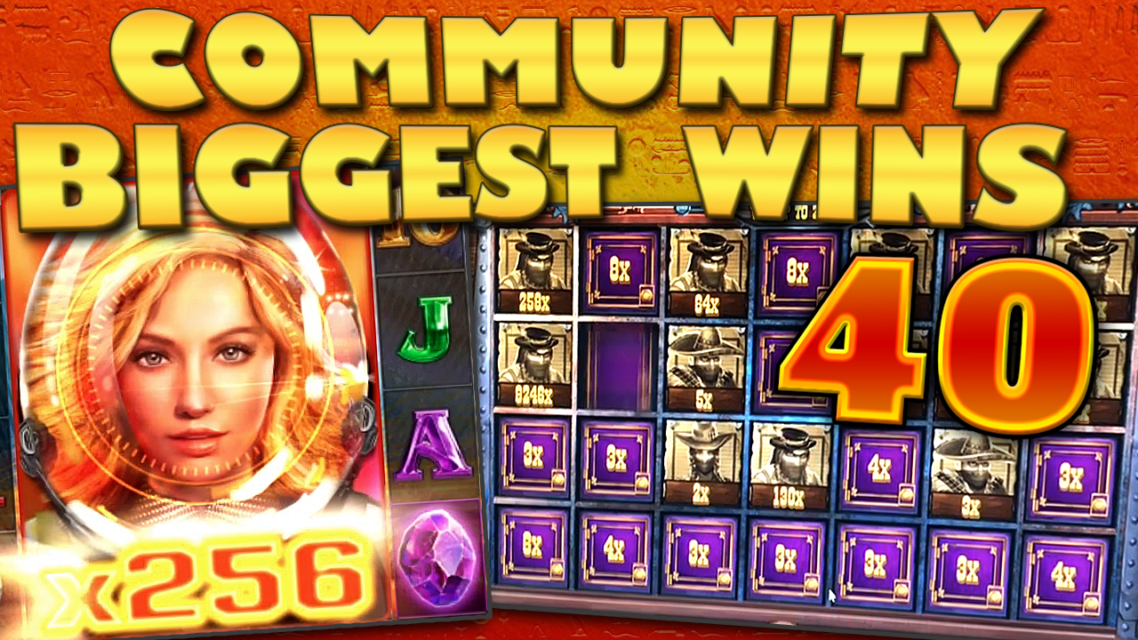 Watch the biggest Casino Streamer Community wins for week 40 2019