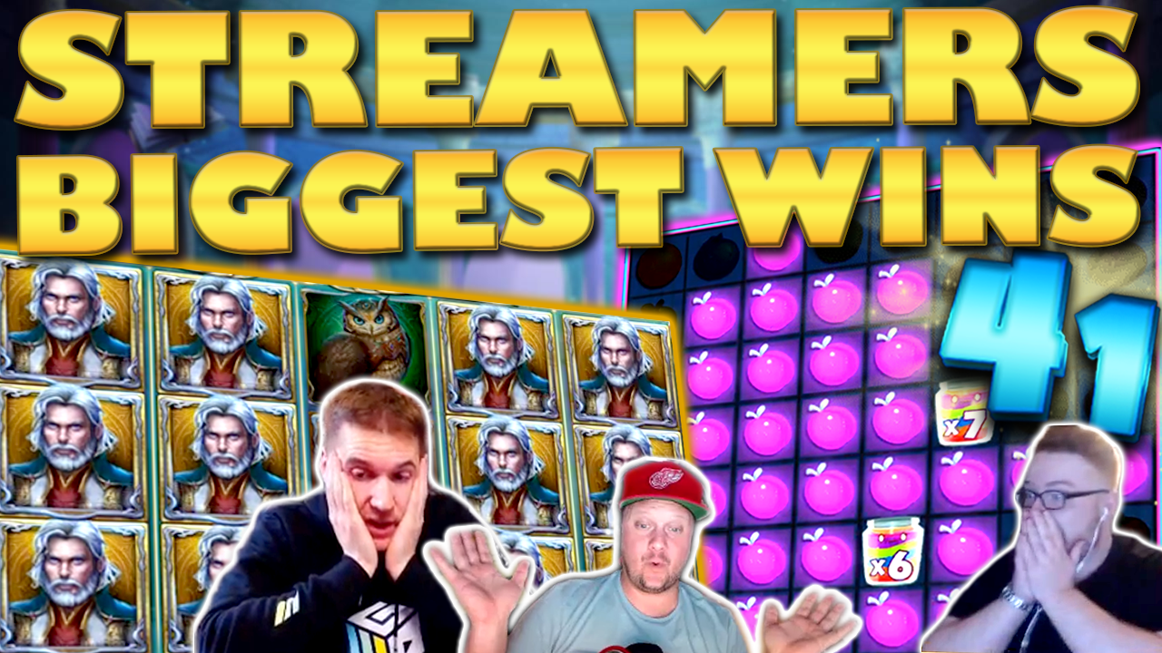 Watch the biggest casino streamer wins for week 41 2019
