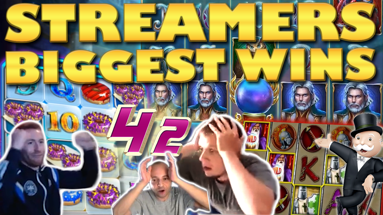 Watch the biggest casino streamer wins for week 42 2019