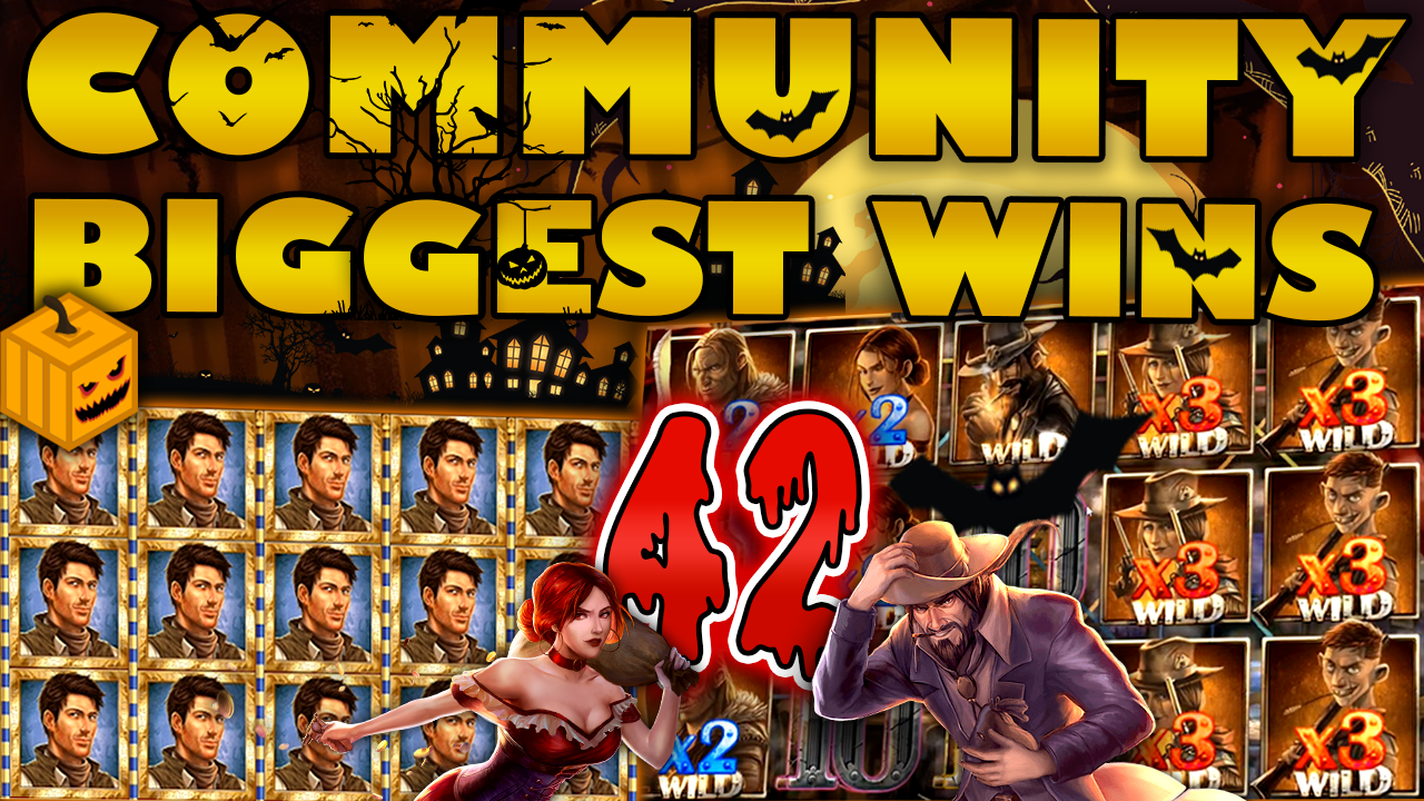 Watch the biggest Casino Streamer Community wins for week 42 2019