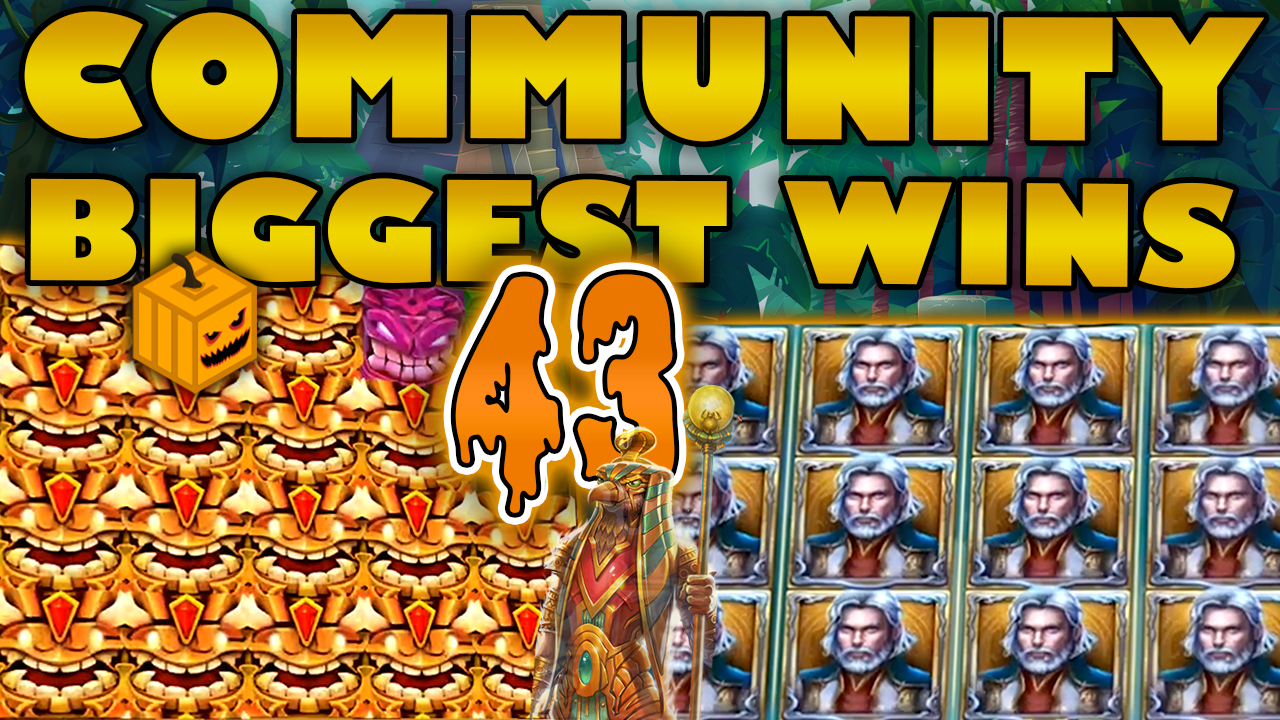 Watch the biggest Casino Streamer Community wins for week 43 2019