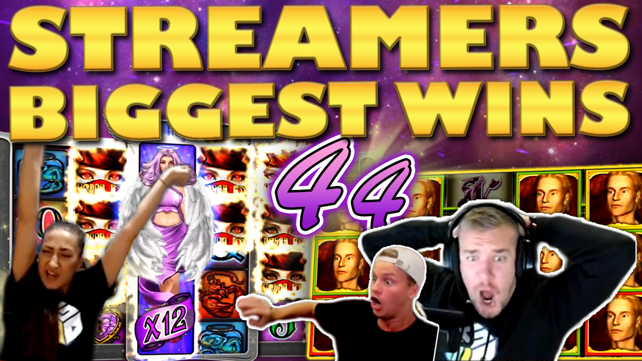 Watch the biggest casino streamer wins for week 44 2019