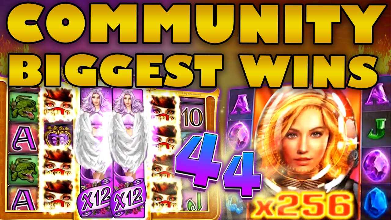 Watch the biggest Casino Streamer Community wins for week 44 2019