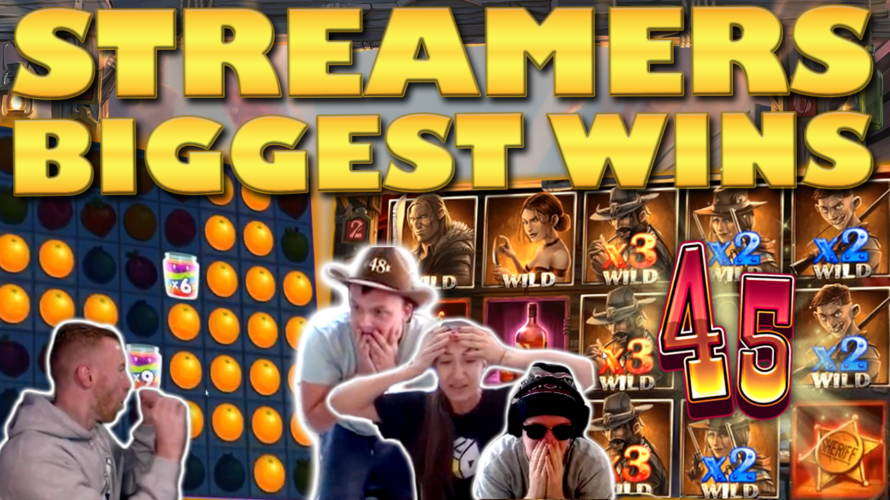 Watch the biggest casino streamer wins for week 45 2019