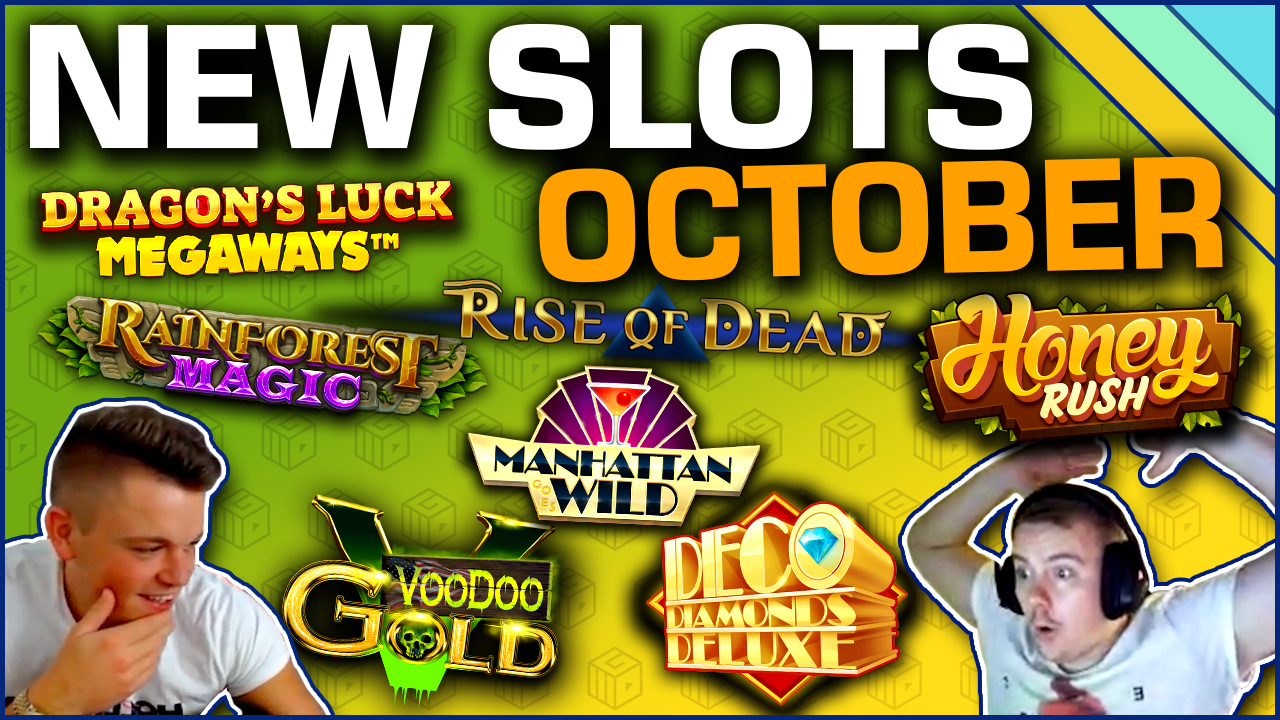 Featured image for the Top new slots of October 2019 article
