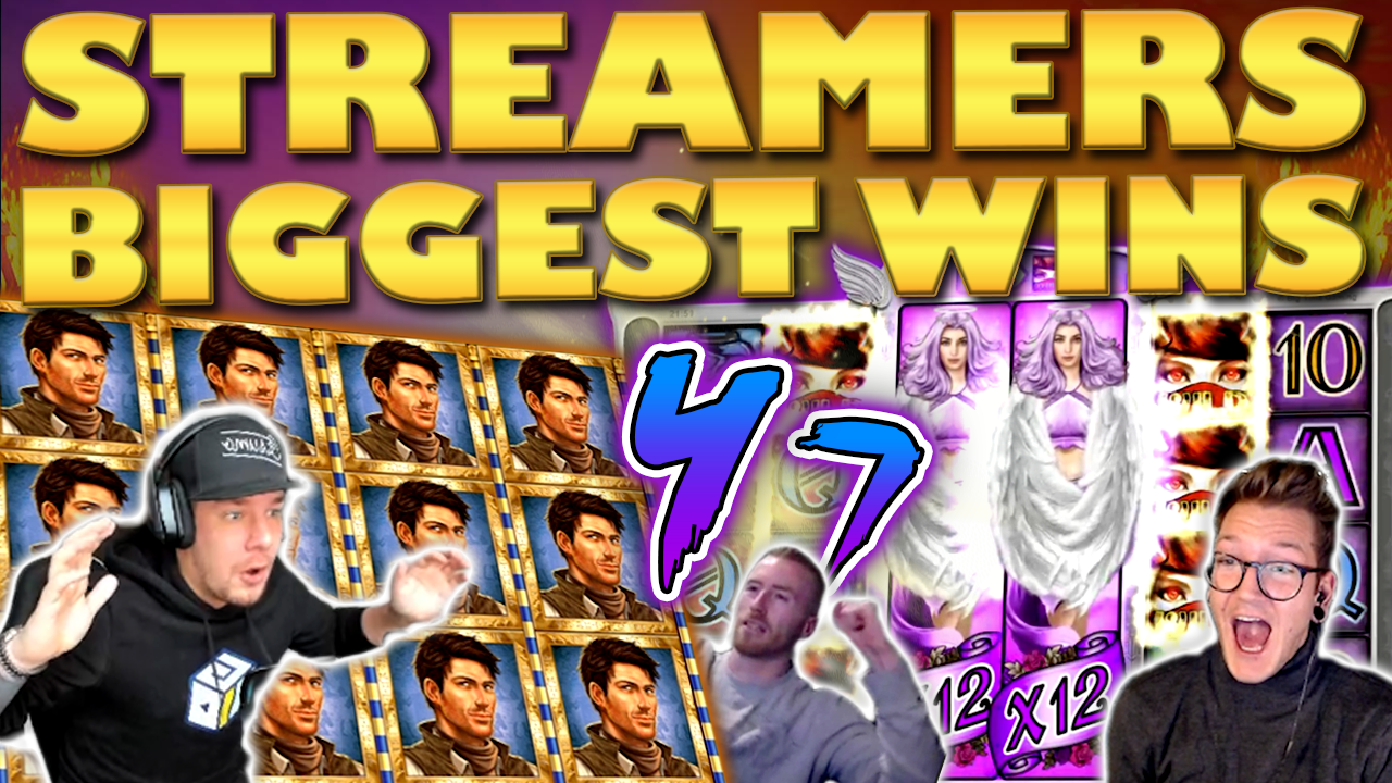 Watch the biggest casino streamer wins for week 47 2019