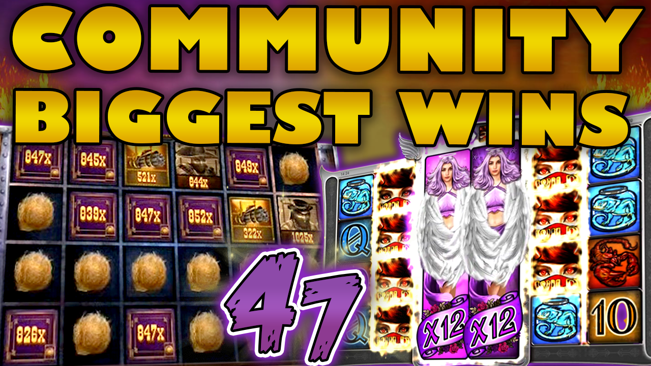 Watch the biggest Casino Streamer Community wins for week 47 2019