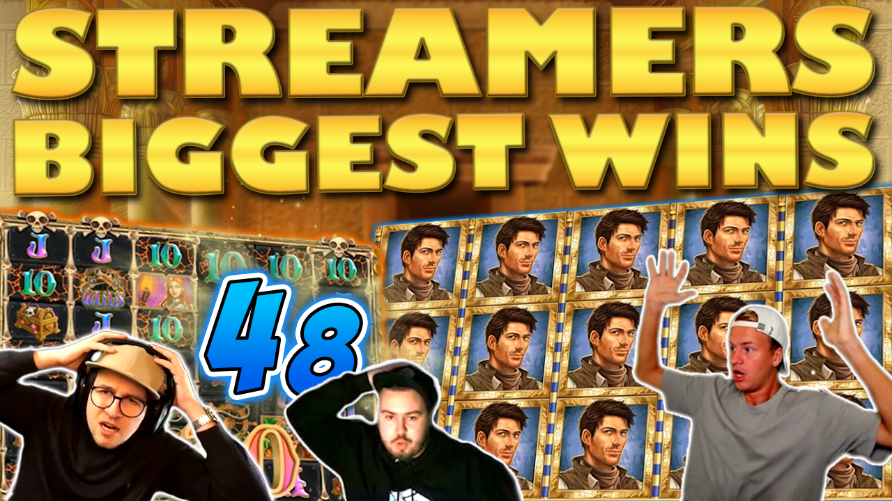 Watch the biggest casino streamer wins for week 48 2019