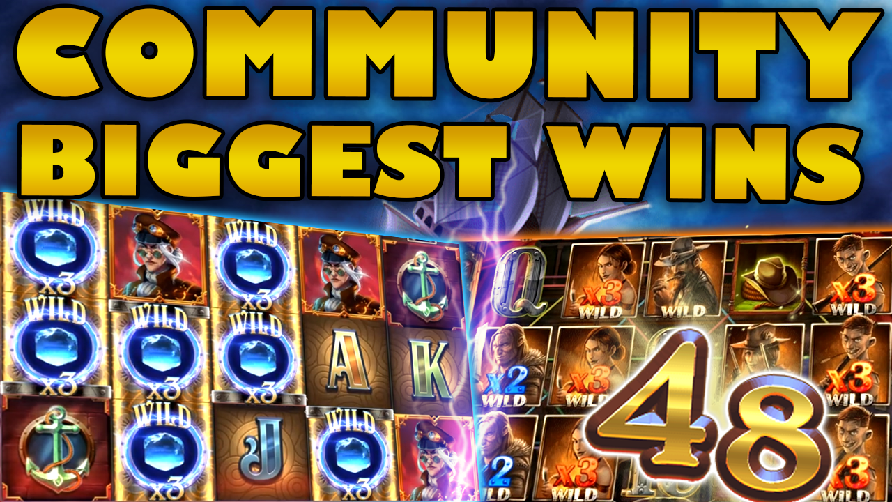 Watch the biggest Casino Streamer Community wins for week 48 2019